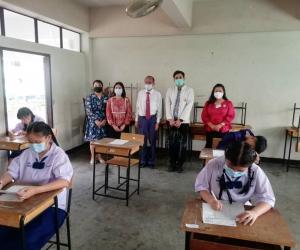 โรงเรียนหอพระ เป็นสนามสอบ O-NET ระดับชั้นมัธยมศึกษาปีที่ 3