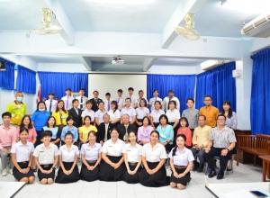 โรงเรียนหอพระ  โดยงานนักศึกษาฝึกประสบการณ์วิชาชีพครู จัดกิจกรรมพิธีปัจฉิมนิเทศ