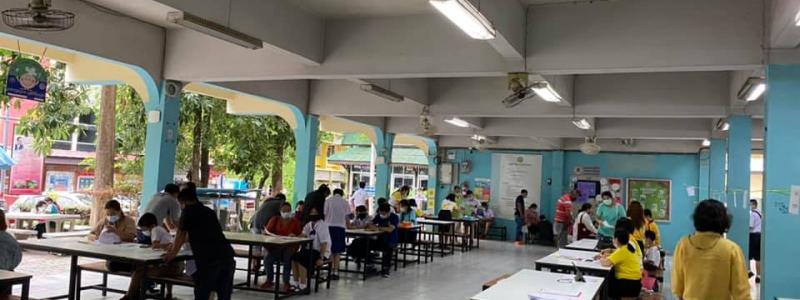 โรงเรียนหอพระ มอบตัวและรายงานตัว นักเรียนชั้น ม.1 และ ม.4  ปีการศึกษา 2564