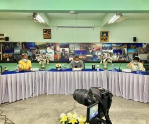 โรงเรียนหอพระ ประชุมผู้ปกครอง การเตรียมความพร้อมก่อนเปิดภาคเรียนที่ 1 ปีการศึกษา 2564 ผ่านระบบออนไลน์