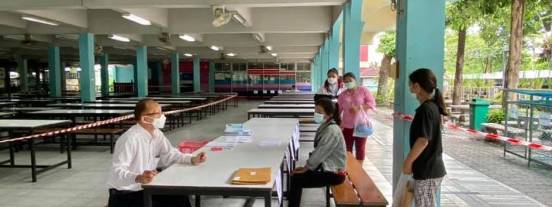 โรงเรียนหอพระ  ดำเนินการตามนโยบายของสำนักงานคณะกรรมการการศึกษาขั้นพื้นฐาน ในการให้ความช่วยเหลือบรรเทาภาระค่าใช้จ่ายด้านการศึกษาในช่วงการแพร่ระบาดของโรคโควิด 19